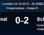 Arsenal vs. S04 24.Okt.2012