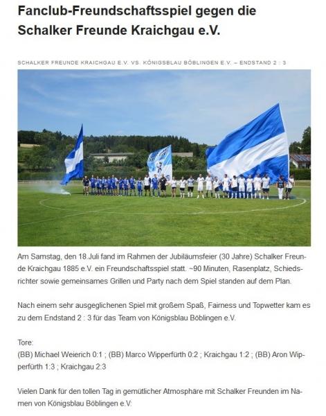 Bericht 30 Jahre Kraichgau